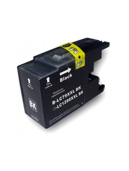 Cartouche d'encre LC1220XL/LC1240XL/LC1280XL compatible pour Brother