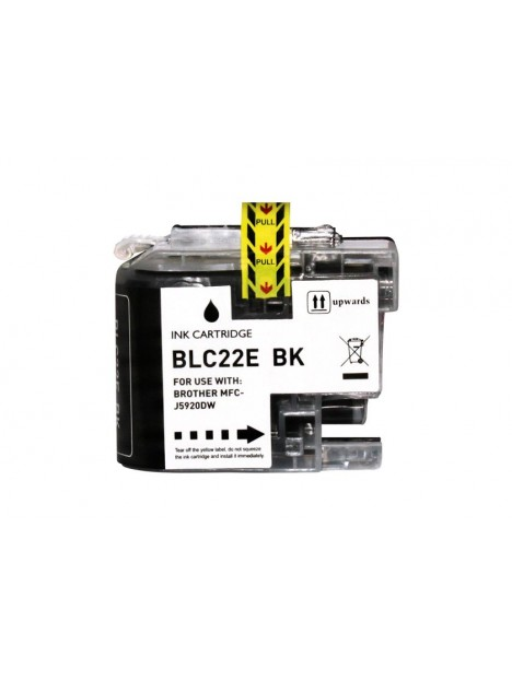 Cartouche d'encre LC22EXL compatible Noir pour Brother.jpg