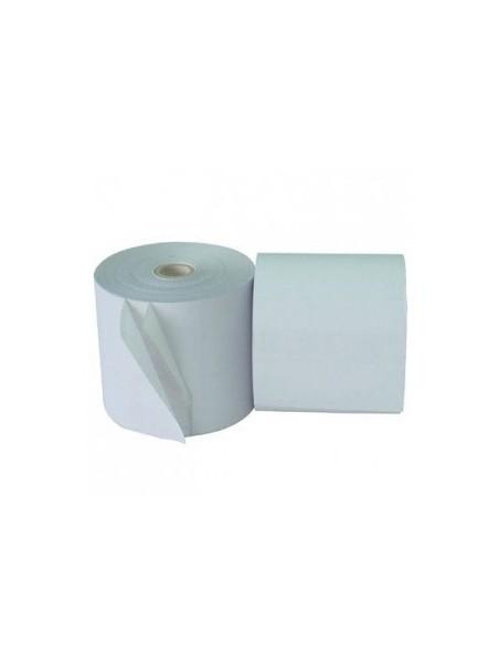 Rouleau de papier autocopiant 75x65x12 mm (Pack de 10)