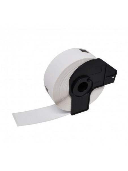 DK11201 ÉTIQUETTES   Papier Thermique Générique BLANC pour BROTHER