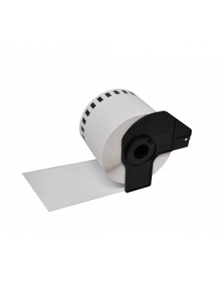DK22205 ÉTIQUETTES  Papier Thermique Générique BLANC pour BROTHER