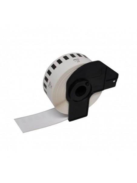 DK22210 ÉTIQUETTES  Papier Thermique Générique BLANC pour BROTHER