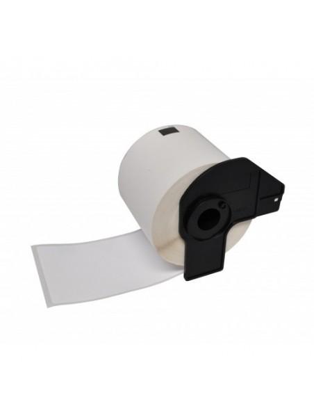 DK22211 ÉTIQUETTES  Papier Thermique Générique BLANC pour BROTHER