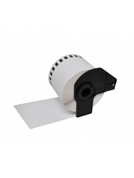 DK22225 ÉTIQUETTES   Papier Thermique Générique BLANC pour BROTHER