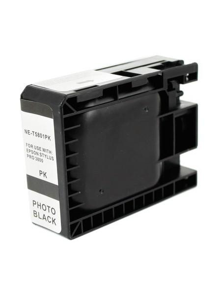 Cartouche d'encre pigmentée T5801 compatible pour Epson