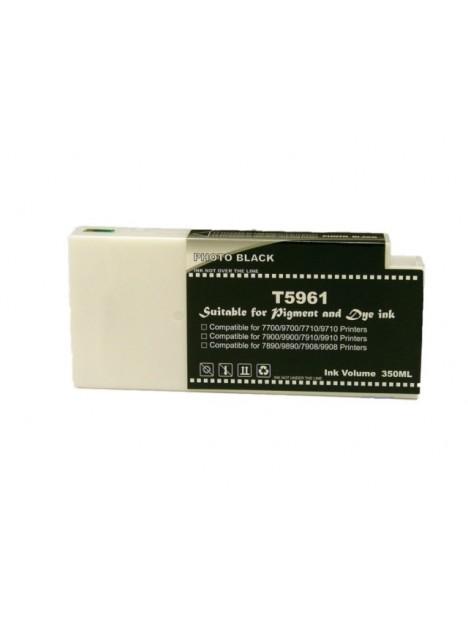 Cartouche d'encre pigmentée T5961 compatible Noir pour Epson