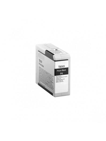 Cartouche d'encre pigmentée T8501 compatible pour Epson