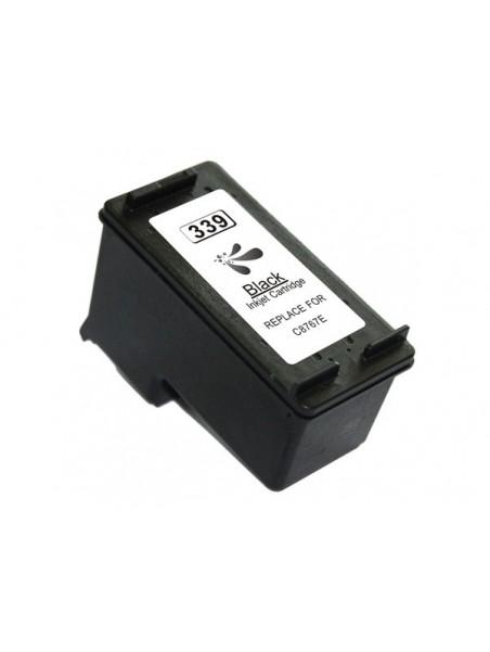 Cartouche d'encre 339 remanufacturée pour HP