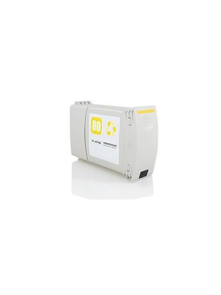 Cartouche d'encre pigmentée 80 compatible pour HP