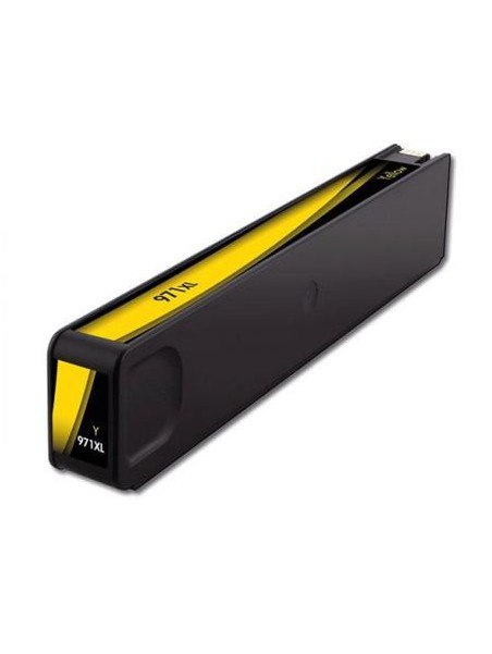 Cartouche d'encre pigmentée 970XL/971XL compatible pour HP