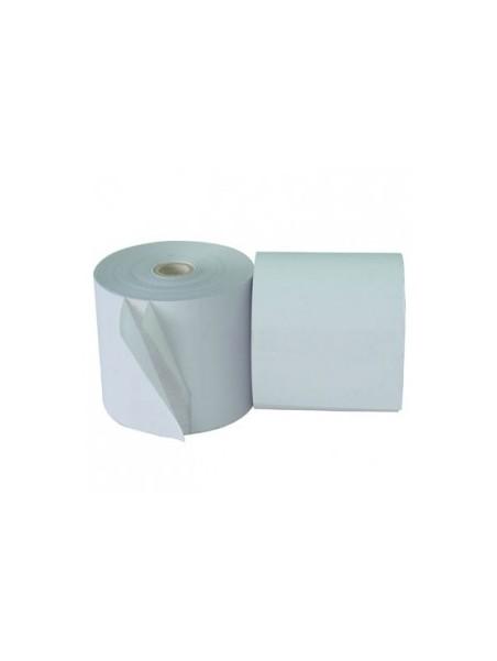 Rouleau de papier thermique 80x65x12 mm (Pack de 8)