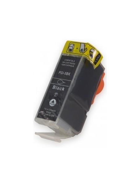 Cartouche d'encre CLI-8/PGI-5 compatible pour Canon.